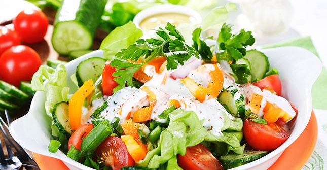 Vielleicht einen leckeren Salat?