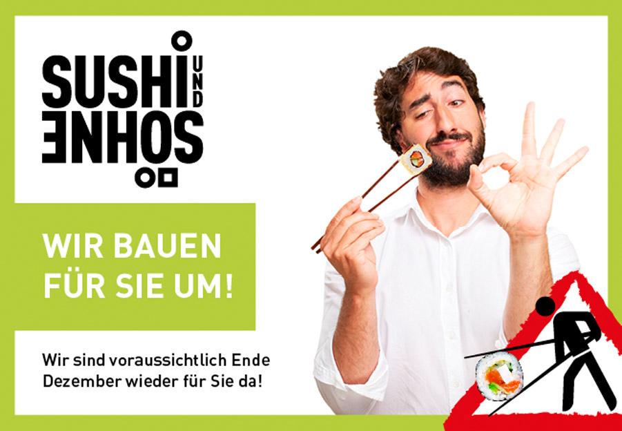 Sushi und Söhne Cover + Startaktion